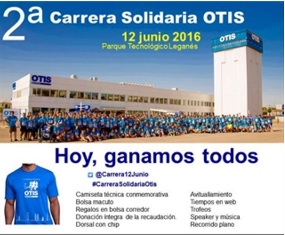 II Carrera Solidaria OTIS